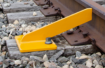 RAIL KICKER Rail Brace for Curved Track track gauge control