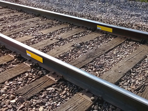 Magnetic Track Clearance Marker  Track Clearance Marker - exposed rail, magnetic, rail web track clearance marker