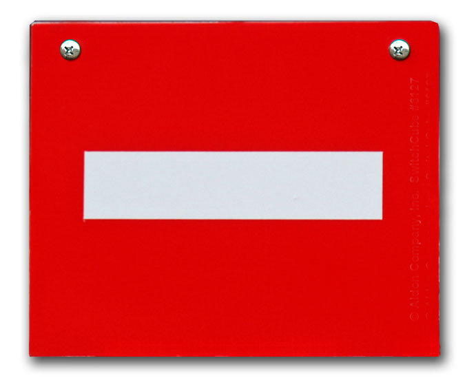 SC Replacement Plate - Red