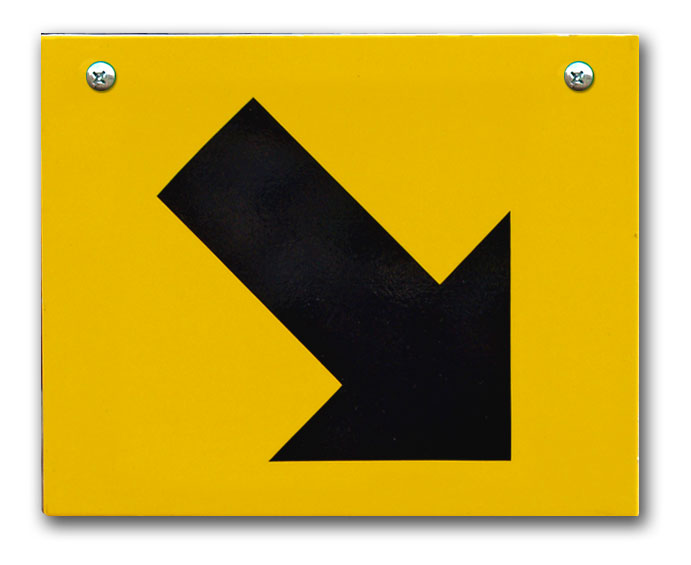 SC Replacement Plate - Yellow, Down, Right