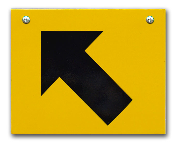 SC Replacement Plate - Yellow, Up, Left