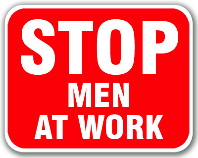 Stop - Men At Work (Red)