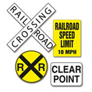 Rail Yard Signs