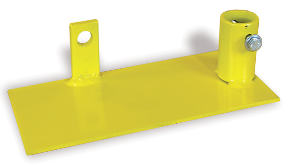 Aldon wheel chock light bracket