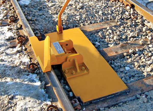 Steel Tie Base Plate for Hinged Derails