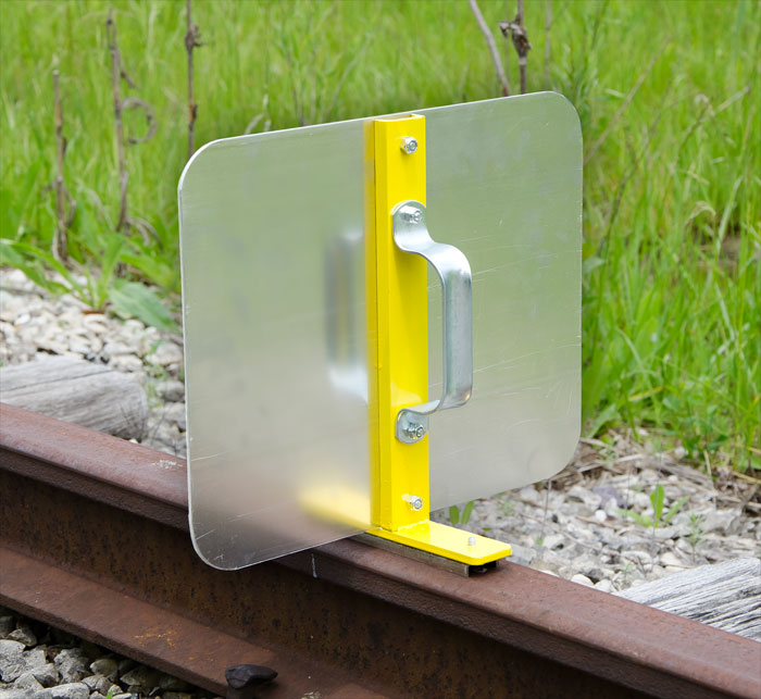 Magnetic Rail-Top Sign Holder (sign plate not included) - 4015-230