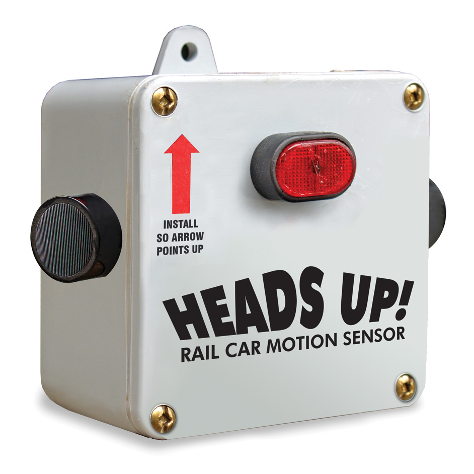 Aldon railroad car motion alarm strobe siren