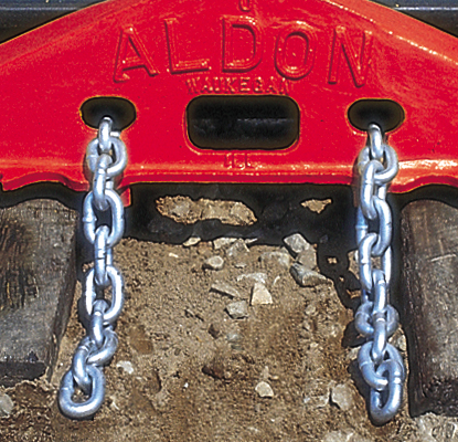 Safety Chain for D.E. Replacer. - 4018-09
