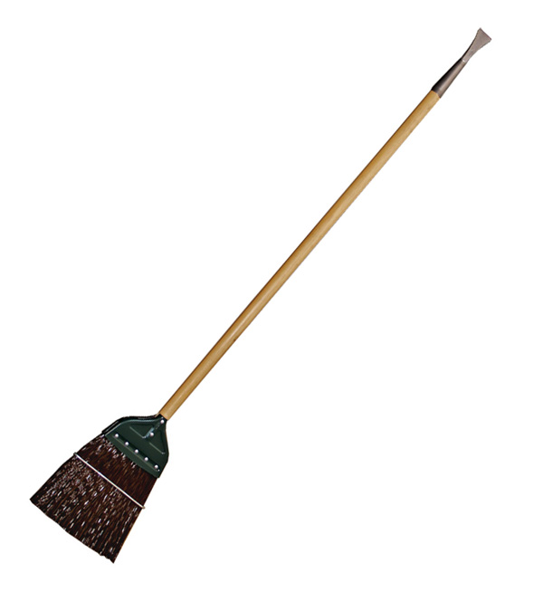 Aldon railroad wood handle switch broom ice pick