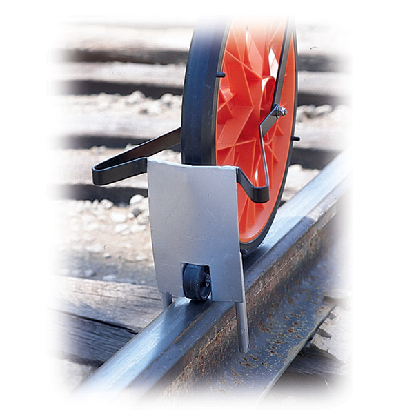 Track Measuring Device : Aldon manufacturer of railroad survey track distance