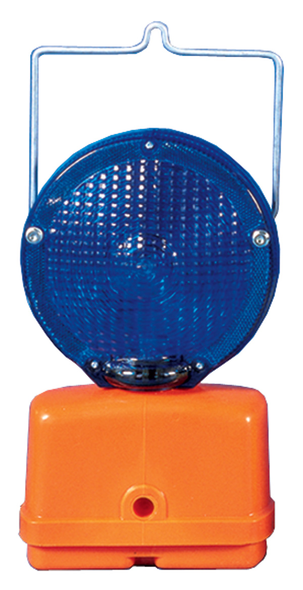 Aldon railroad flashing blue light with handle