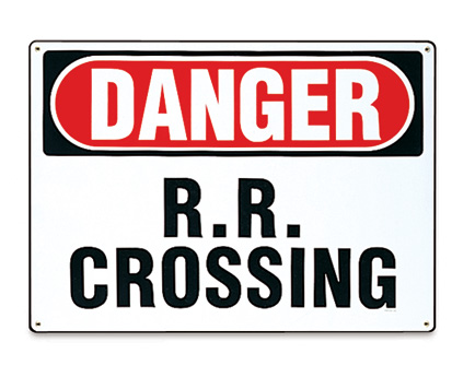 Danger R.R. Crossing