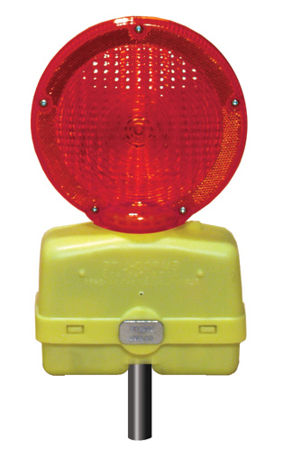 Red Flashing Light for Switching Sign