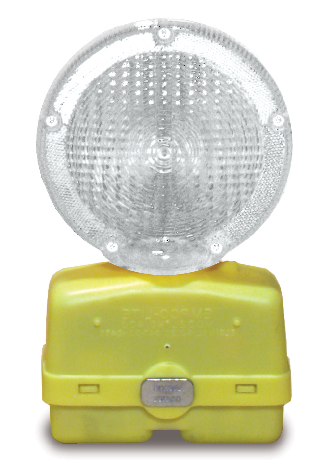 Clear Safety Light