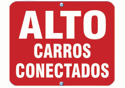 Aldon railroad OSHA red sign flag, alto carros conectados